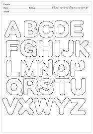 Resultado de imagen de moldes de letras para imprimir