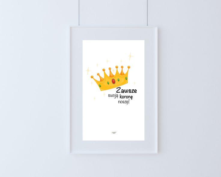 Projekt przygotowany specjalnie dla małych i tych już całkiem dużych Księżniczek.  Każda kobieta również ta jeszcze malutka powinna czuć się dobrze we własnej skórze. Dobre samopoczucie to dbanie o siebie każdego dnia jak o prawdziwą Królową. Przygotowaliśmy dla Ciebie plakat, który będzie Ci o tym przypominał każdego dnia!