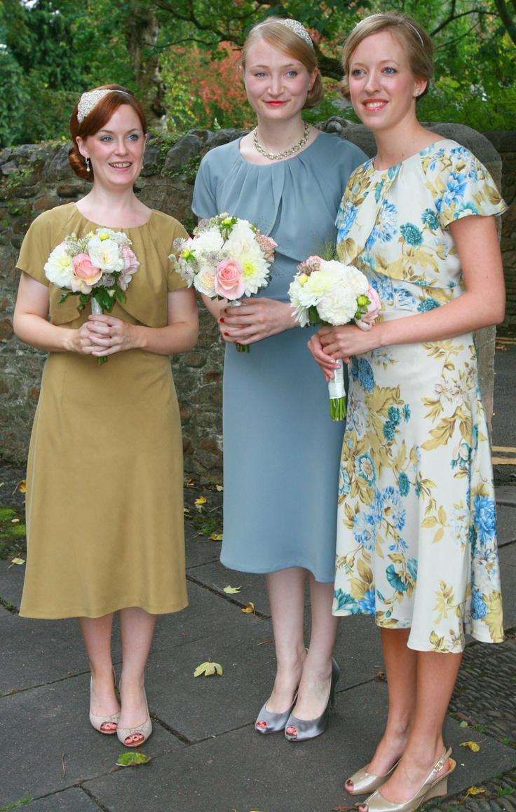 1930 style flower girl dresses
