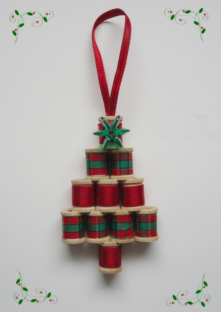 crafts with thread spools | ... Craft Flashback #4 - Mini Spool Tree - The Make Your Own Zone  I made one of these for every Eternal Quilter.