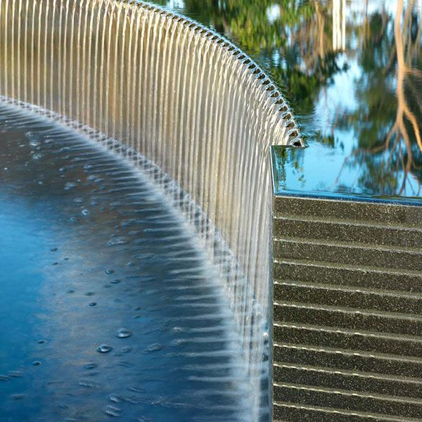 17 best images about water feature on pinterest gardens for Urban waterfall design