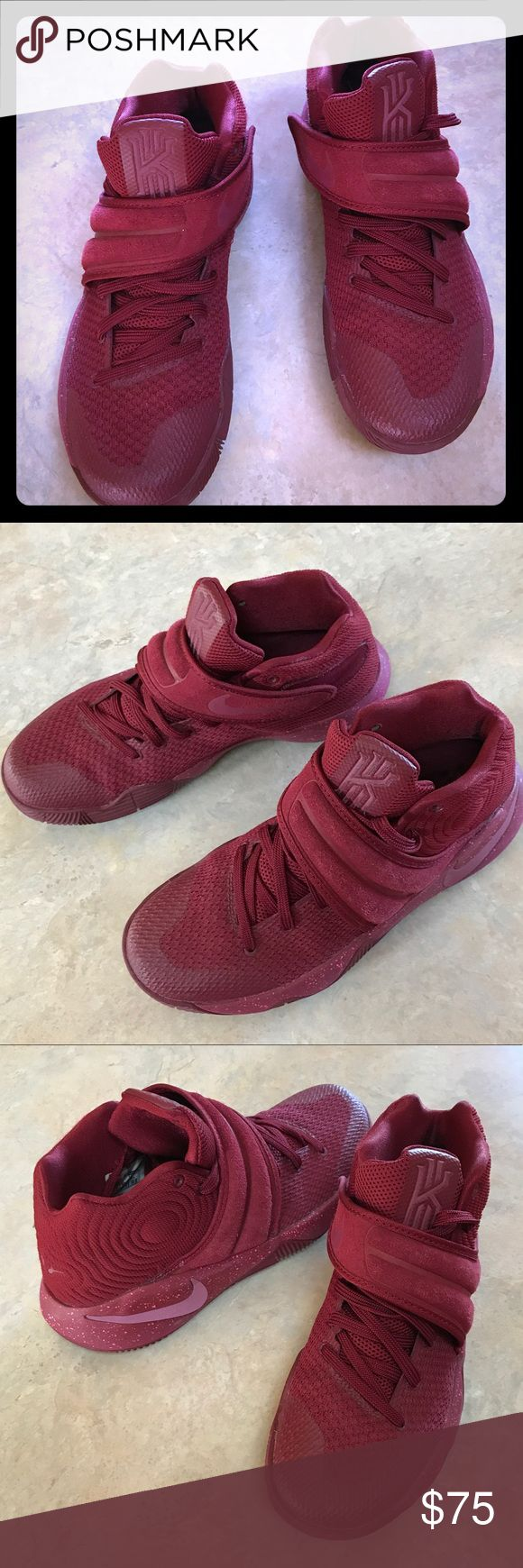 🔴Kyrie's Kyrie Irving's in Merlot good condition Nike Shoes Athletic Shoes