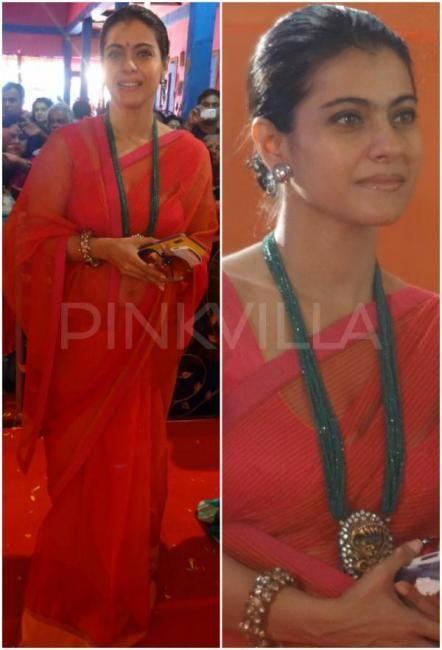 Kajol's Durga Puja look | PINKVILLA