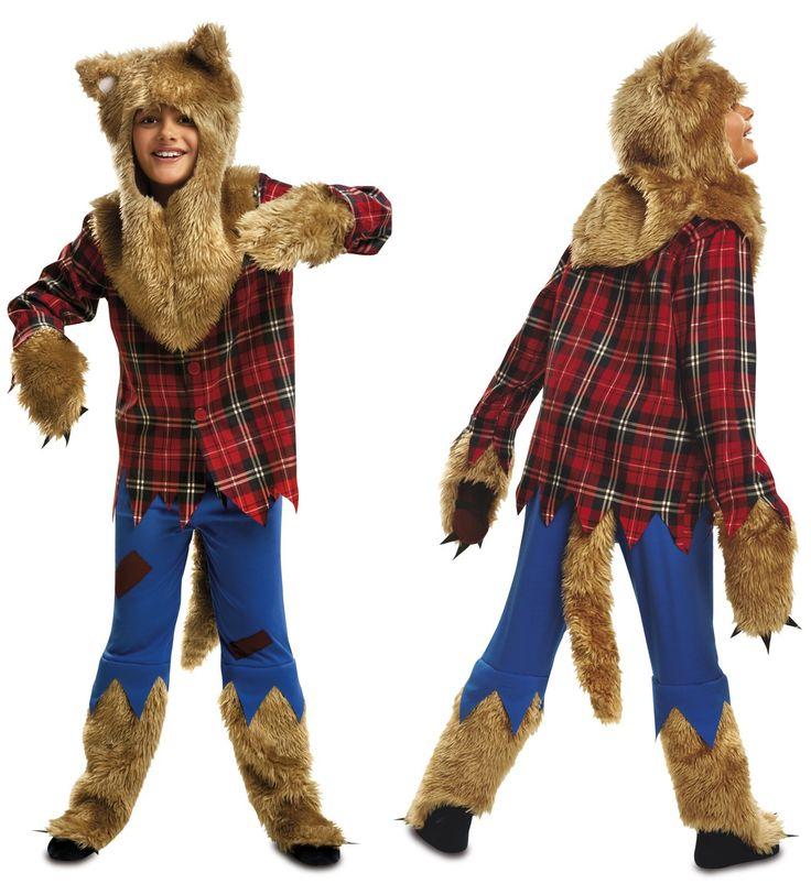 como hacer un disfraz de hombre lobo para niño - Buscar con Google