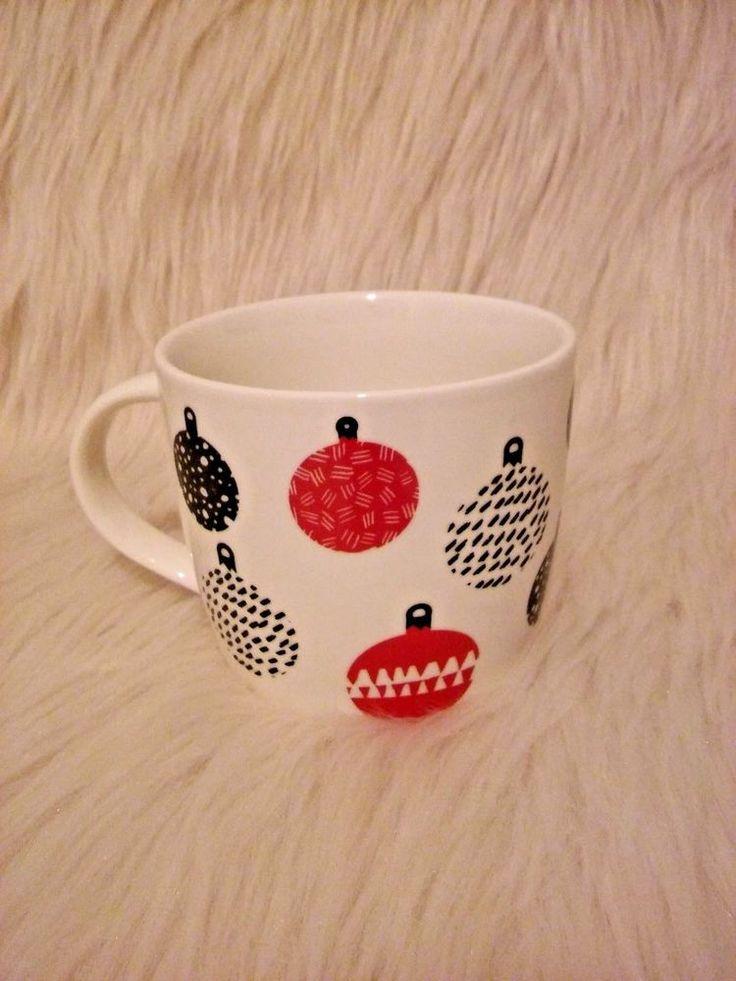 2016 Starbucks 16oz. Christmas Bulbs Ornaments Coffee Tea Mug Cup #Starbucks