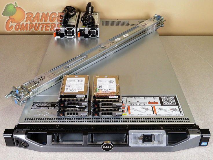 Dell PowerEdge R620 Server Dual Xeon E5-2609 QC 2.4GHz 768GB 4x 600GB SAS 4B RPS