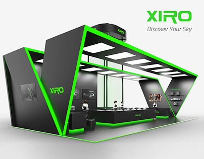 Expo Stands 2015 : Xiro uav experience pavilion design in booth exhibition