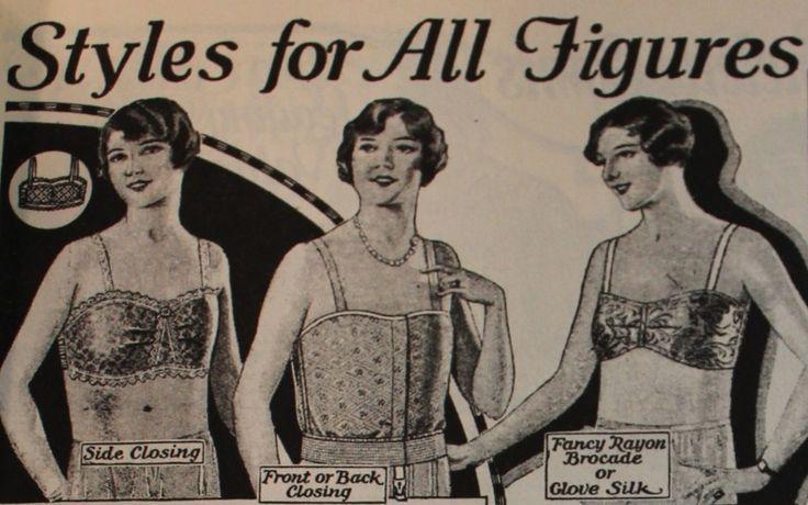 1920s bra bandeau