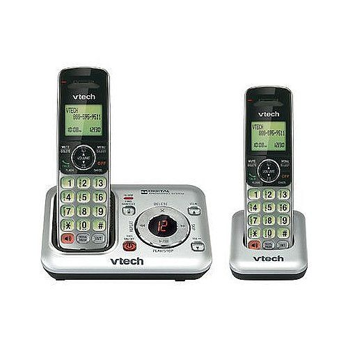 CS6428-2 Cordless Phone - DECT 6.0. Handset Phone with Caller ID. Vtech Accessory Handset. Handset Accessory with Caller ID.