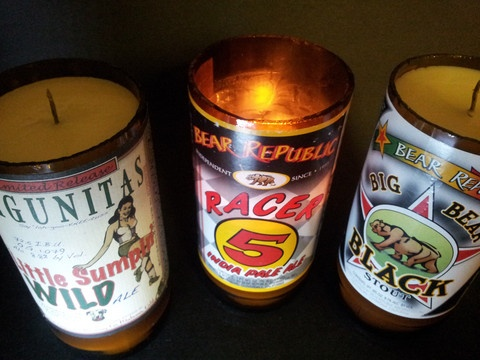 Sweet microbrew candles! Christmas gift for the beer lover in your life?