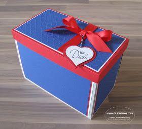 Überraschungsbox Explosionsbox Geschenkbox Städtereise Paris Eifelturm Geschenkgutschein Geldgeschenk Reise Geburtstag Koffer
