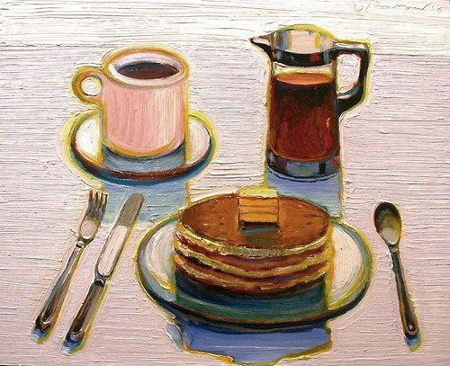 WAYNE THIEBAUD Pancake Breakfast (2008)