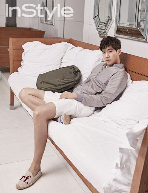 Lee Sang Yoon In Paris For InStyle Korea July 2016 | Couch Kimchi