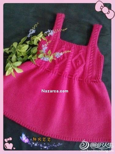 ince-askılı-desenli-örgü-jile-elbise-modeli-nazarcacom