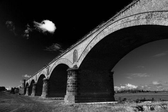 Die Brücke am Rhein©Eric Gessmann -- In Wesel/Niederrhein-Germany