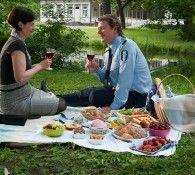 Rosina ja Ulpukka piknikillä