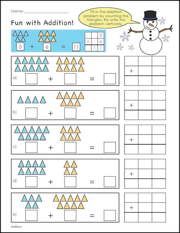 Number Names Worksheets winter worksheets for first grade : Fun Winter Worksheets For 5th Graders - fun learning worksheets ...