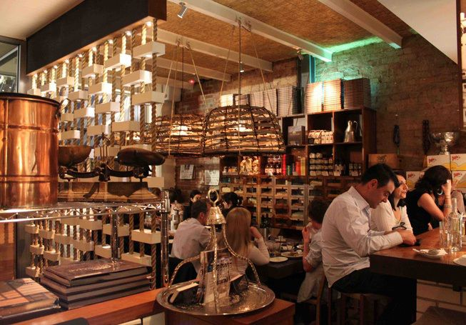 Hellenic Republic #Melbourne had the most amazing meal and service here. And quite an adventure finding it . Greek food such a treat for us.
