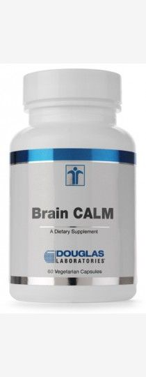 Brain Calm by Douglas Laboratories - is an effective blend of critical amino acids and nutrients that provide support for a calmer brain.