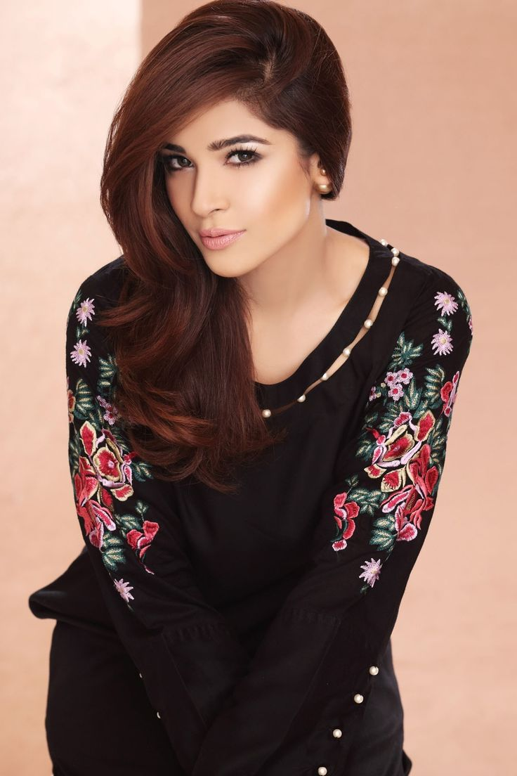 Pakistani Designer Dresses - Lowest Prices - Black Pearls and Embroidered Dress by Origins - Dresses - Latest Pakistani Fashion