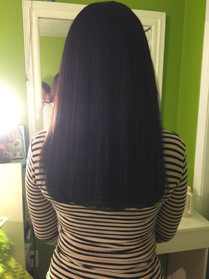 Natural hair length check! Bra strap length