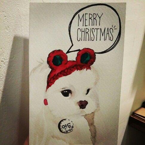 christmas cards by mirim. Yeondoo