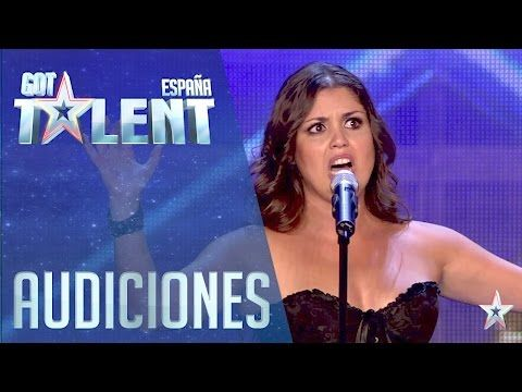 Cristina Ramos on 2016 Spain's Got Talent 2016 ● Phenomenal voice with a performance twist.