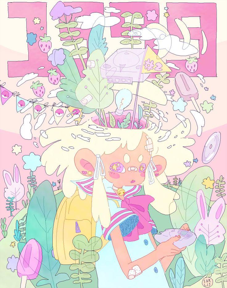 "sarlisart: "" my series is finally complete ♡♡ prints here! """