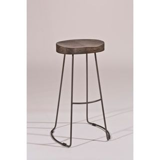Amazing Shop for Montero Copper Finish Swivel Stool Get free shipping at Overstock