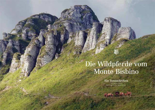 DIE WILDPFERDE VOM MONTE BISBINO  – ein Rossmärchen  Eine Geschichte über die Pferde die nach dem Tod ihres Bergbauern jahrelang durch die Berge um den Monte Bisbino und Monte Generoso streiften, bis sie vor Hunger in die Dörfer einfielen und dort die heilige Ordnung. aufmischten. Wie die Pferde doch noch dem Schlachthof entkamen, warum die Bergbauern ihnen nachsetzten und wie das Ganze ausging: TRANSHELVETICA 4!