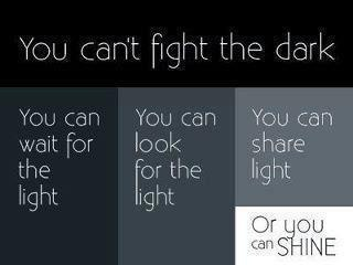 Light And Dark Quotes Alluring Best 25 Light And Dark Quotes Ideas On Pinterest  Light In