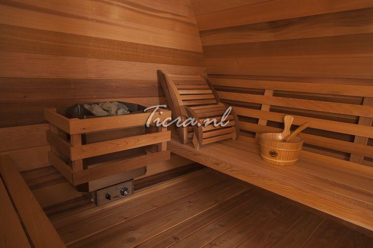 Red Cedar | Buitensauna's | Ticra Buitenleven