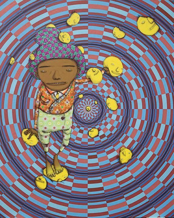 """Preview: OSGEMEOS """"Silence Of Music"""" @ NYC's Lehmann Maupin.  Lehmann Maupin will be opening next month """"Silence of the Music"""", the Brazilian artist duo OSGEMEOS' first New York solo show with the gallery."""