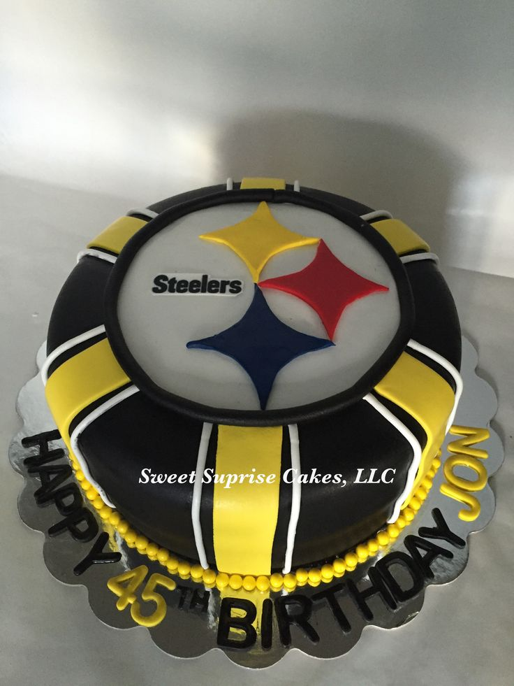 17 Best images about Pittsburgh Steelers Birthday Cakes on ...