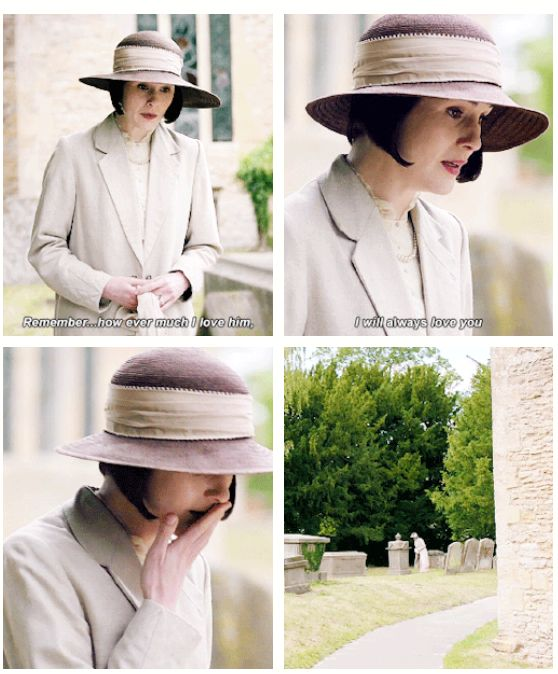Downton Last Season Lady Mary .......My darling…