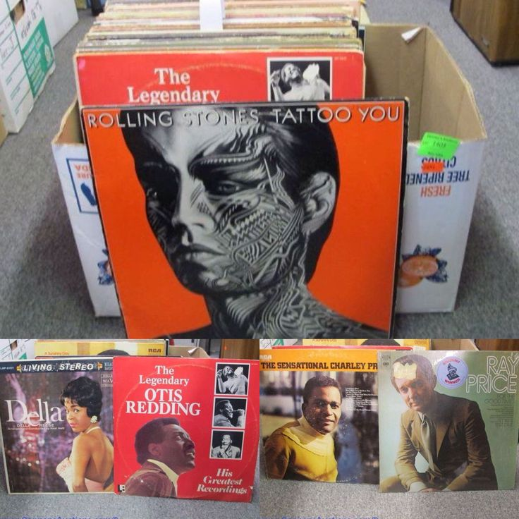 Vinyl. The Rolling Stones, Jim Reeves, REO Speedwagon, Lionel Richie; and more. Bids close Thurs, 10 Nov from 11am ET. http://bid.cannonsauctions.com/cgi-bin/mnlist.cgi?redbird80/1403