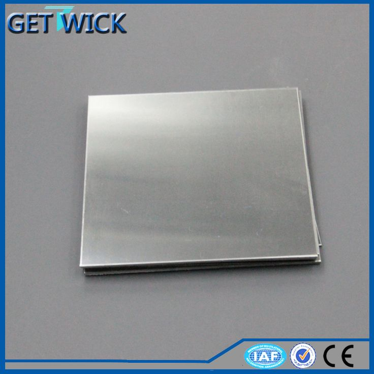 High Pure Thin Tungsten Sheet Metal Price