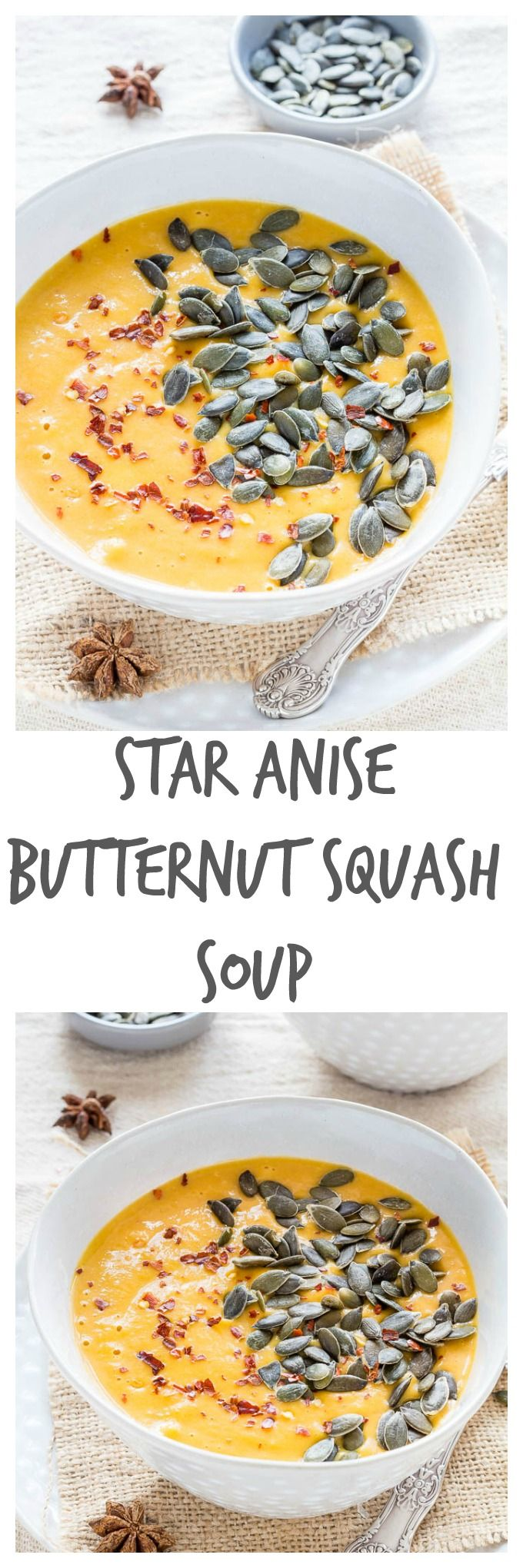 Star ANise Butternut Squash Soup | Recipes From A Pantry
