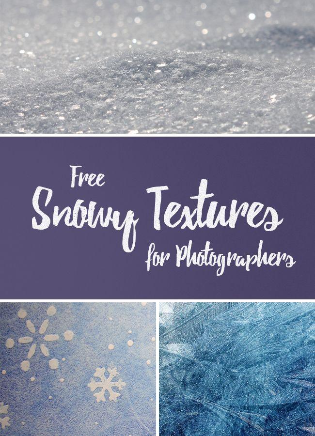free snowy textures