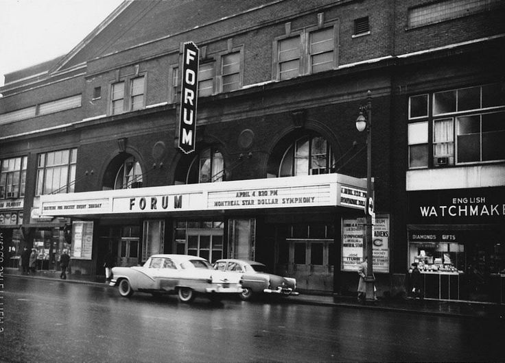 Montreal Forum, 1960