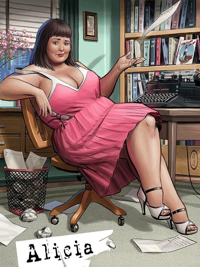 Красота толстушек в эротике