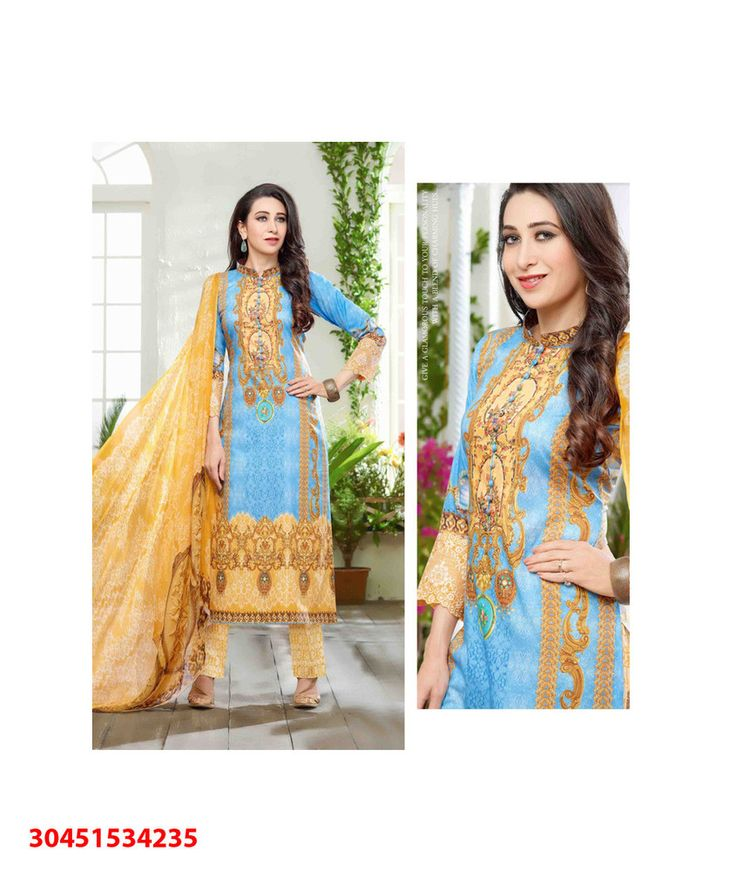 Salwar Kurta and Dupatta for Office and Party Wear