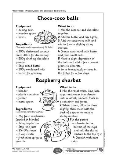 Choco-coco balls and raspberry sharbat