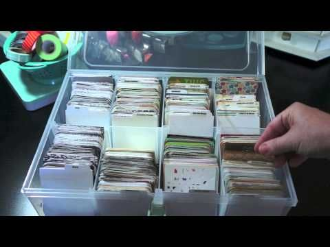 Organization video: Organize your Project Life cards by color and theme ( current Project life kits too) This is my method :)