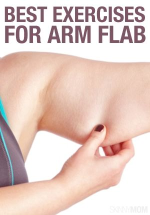 Get rid of that flab with these exercises! #workout #arms