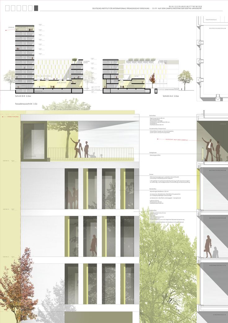 Neubau deutsches institut f r internationale p dagogische for Architektur layouts