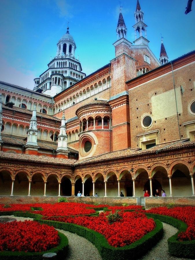 Monastery in Pavia, Province of Pavia, Lombardy