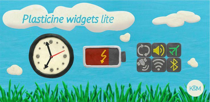 KM Plasticine widgets Lite
