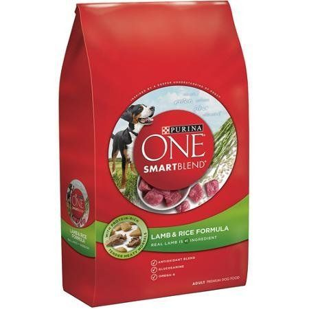 Purina ONE Smartblend 311 lb Bag of Dry Premium Dog Food Lamb  Rice Formula Dualdefense Antioxidant Blend of Vitamins Ea with Minerals ZincSelenium 100 Complete Diet for a Healthy Difference * Want to know more, click on the image.