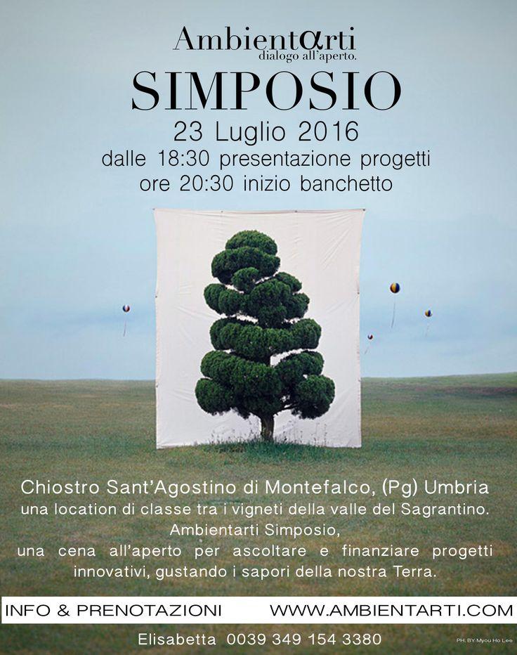 #eventiinumbria #UmbriaEventi #Simposio #ambientarti